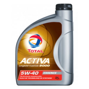 Huile Total Activa 9000 5w40 2 litres