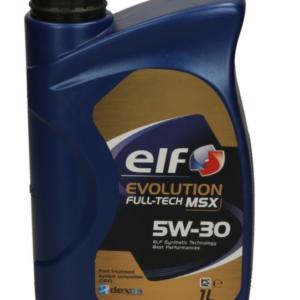 Huile moteur elf evolution full tech msx 5w30