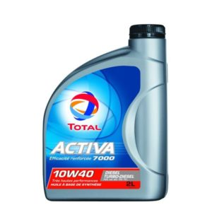 Huile Total Activa 7000 Diesel 10w40 2litres