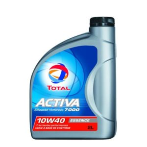 Huile Total Activa 7000 Essence 10w40 2litres