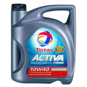 Huile Total Activa 7000 10w40 5litres
